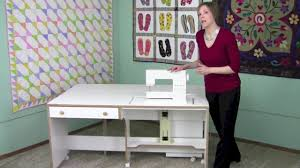 Koala Sewing Cabinet Dealers by Horn Of America Quilters Dream Sewing Cabinet Youtube