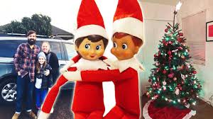 Shells Christmas Tree Farm by Elf On The Shelf Getting A Christmas Tree And Decorating Day 18