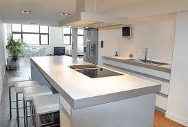cuisine blanche ouverte sur salon distingué cuisine américaine design modele de cuisine ouverte sur