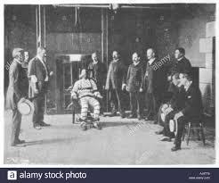 execution chaise electrique l exécution par chaise électrique united states 1898 banque d images