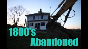 100 100 Abandoned Houses Exploring The 1800s House Over Years Old Interesting Story Behind This Place