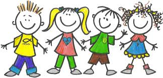 Clipart Of Class Holding Hands