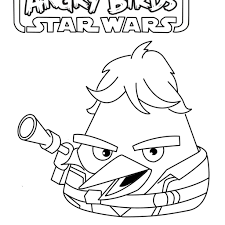 Coloring Pages Of Angry Birds Go Karts