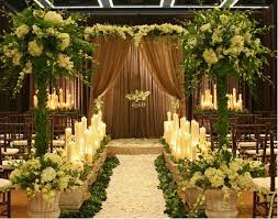 Rustic Wedding Decorations Ceremony