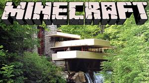 100 Water Fall House Minecraft Ing