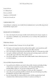 Skill Examples For Resumes Based Resume Skills Template Of