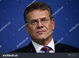 100 Sefcovic Brussels Belgium 18th September 2018 EU Stock Photo Edit Now