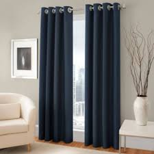 108 Inch Navy Blackout Curtains by Buy Blue Blackout Curtains From Bed Bath U0026 Beyond