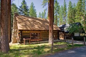 Gallery Lake Tahoe log cabin