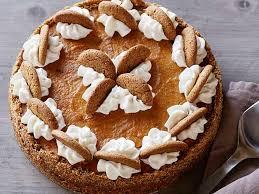 Gingersnap Pumpkin Pie Crust by Ginger Snap Pumpkin Pie With Ginger Cream Recipe Food Network