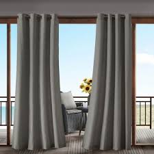Grommet Top Curtains Jcpenney by Madison Park Mission Grommet Top Outdoor Curtain Jcpenney