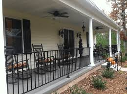 Front Porch Iron Railing Ideas Porch Patio Porch Front Porch