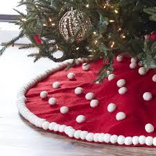 Polka Dot Tree Skirt Products Christmas Tree Decorations
