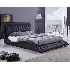 King Platform Bed With Headboard by Making Simple Platform Bed King Size Marku Home Design