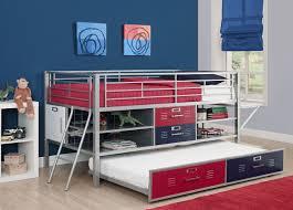 Low Loft Bed With Desk And Dresser by Total Fab Kids U0027 Loft Bed With Workstation Desk Underneath