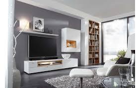 moderne wohnwand in lack weiß 350900002 1 möbel weirauch