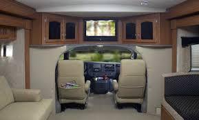 Class B Plus Motorhome Interior