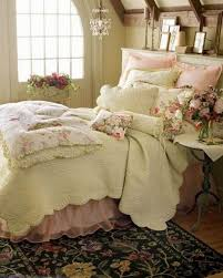I Like The Colors Rug And LOVE Bedskirt Cute Looking Shabby Chic Bedroom Ideas