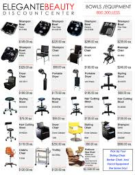 Beauty Salon Chairs Online by Catalog Elegante Beauty Supply Los Angeles Ca Beauty Supply