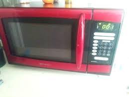 Emerson Microwave Mw8999rd Red Watt Appliances In