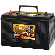 100 Heavy Duty Truck Battery Farm Rated Tractor 12V 24 Mo 1000 CCA By Farm Rated At