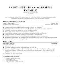 Banking Sample Resume Of Bank Teller For A Example