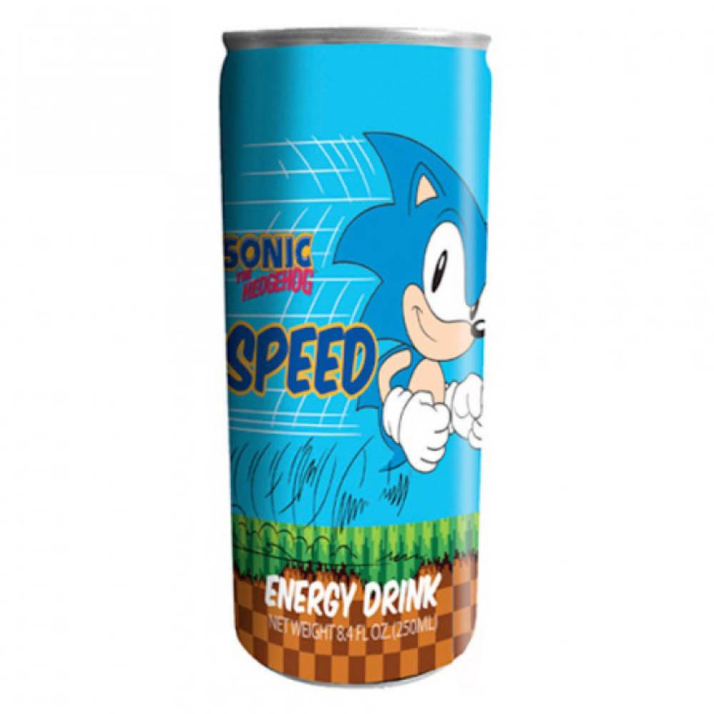 Boston America Sonic-Speed Energy Drink - 12 oz.