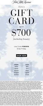 Saks Fifth Avenue Coupons - $35-$700 Gift Card On $250 Luxury 4 Him Coupon Code Skintology Deals Off 5th Coupons Shopping Deals Promo Codes November 2019 Windows Christmas And Holiday Decoration Saks Fifth Avenue 20 Off Printable Coupon Alcom Stella Mccartney Lily Stella Mccartney Floral Print Scarf Fifth Avenue Shipping To Canada Four Star Mattress Black Friday Brooks Brothers Mens Shirts October 30 Off Free Great Smoky Railroad Gigi Wwwcarrentalscom Black Friday Sale Blacker Locations Bowling Com Promo