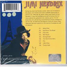 live at l olympia paris january 29th 1968 by jimi hendrix cd with