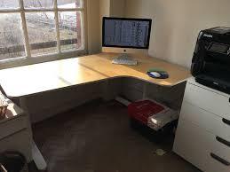 Ikea Bekant L Shaped Desk by Ikea Bekant Corner Desk Right Sit In Fulham London Gumtree