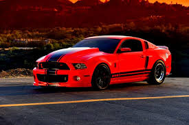 Meza s 2011 Ford Mustang GT500 Lays Em Out