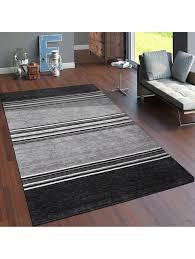 paco home teppich handgewebt gabbeh qualität 100 wolle streifen meliert terrakotta klingel