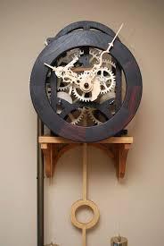Wooden Clock Plans Free Download by Best 25 Wooden Gears Ideas On Pinterest Wooden Gear Clock