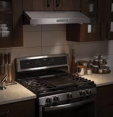 ductless range hood under cabinet modern home