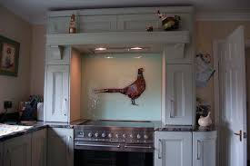 KAG Textured Pheasant Glass Splashback