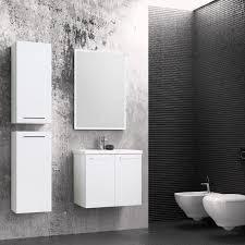 badezimmermöbel set a rajkot 4 teilig inkl waschtisch waschbecken farbe weiß glänzend