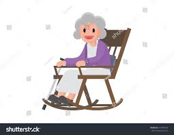 Old Woman Sitting On Rocking Chair Stock Vector (Royalty ... Illustration Featuring An Elderly Woman Sitting On A Rocking Vector Of Relaxed Cartoon Couple In Chairs Lady Sitting Rocking Chair Storyweaver Grandfather In Chair Best Grandpa Old Man And Drking Tea Santa With Candy Toy Above Cartoon Table Flat Girl At With Infant Baby Stock Fat Dove Funny Character Hand Drawn Curled Up Blue Dress Beauty Image Result For Old Man 2019 On Royalty Funny Bear Vector Illustration