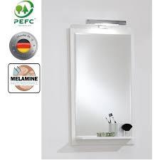 awesome miroir avec eclairage salle bains ettablette pictures