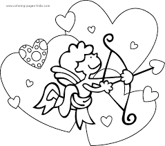 Homely Idea Valentines Day Pictures To Color Coloring Pages