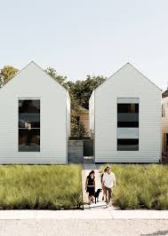 100 Row Houses Architecture On 25th Affordable Housing Development In Houston
