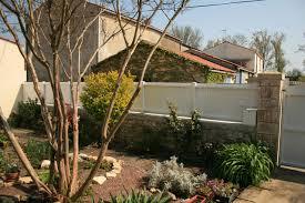 mur de separation exterieur clôturer jardin les différents types de clôtures