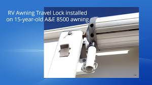 RV Awning Travel Lock Facts - YouTube Carter Awnings And Parts Rvcamptrailer Cafree Awning Remote Lock White Part Solera Sliders Diagram Us Mechanism For Roll Bar On Retractable Aue Pull Strap 92l Direcsource Ltd 69133 Patent Us4759396 Mechanism For Roll Bar On Retractable Rv Patio More Of Colorado Coleman Gas Furnace U Hvactore Ae Travel Kit 156697 At Sportsmans Repair How To Operate An Awning Your Trailer Or Youtube Free Norcold Dometic Rv Refrigerator