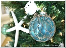 Interior Glass Christmas Tree Decorations Tgatws Com Beneficial Beach Themed Ornaments Staggering 3