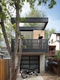 100 Studio B Home Creates Skinny Backyard Dwelling For Landscape
