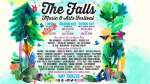 Official Poster Of Falls Festival 2015 2016