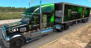 100 Gta 5 Trucks And Trailers FREIGHTLINER CORONADO TRAILER V14X MOD ATS Mod American