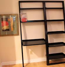 crate barrel sloane leaning desk and bookshelf ebth