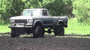 Duel Of The 1979 Ford F-150 MUD BOGGING Trucks At Stampers Mud Bog ...