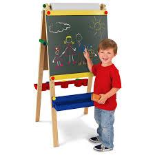 Kidkraft Easel Desk Espresso by Kidkraft Artist Childrens Easel With Paper 62028 Hayneedle
