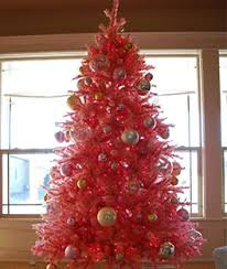 Pretty In Pink Christmas Tree Treetopia Candy Red 2ft Artificial